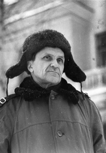 Varlam Shalamov in the 1960s. Photo: Boris Lesnyak, shalamov.ru