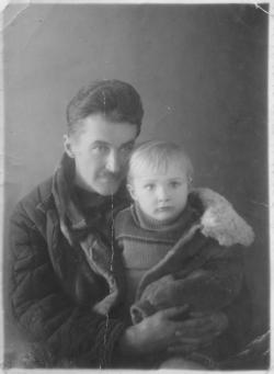 К. В. Флуг в ссылке. 1953 г. Фото: архив Общества «Мемориал»